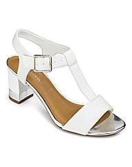 Clarks T Bar Sandals D Fit