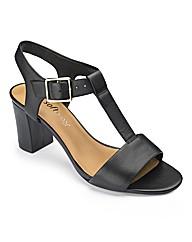 Clarks T Bar Sandals E Fit