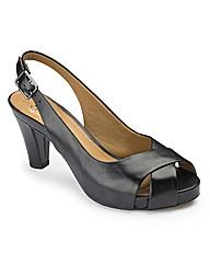 Clarks Slingback Sandals D Fit