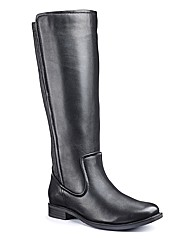 Legroom High Leg Boots E Fit Super Curvy