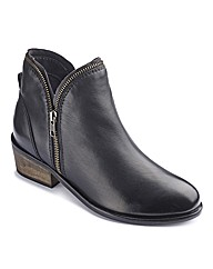 The Shoe Tailor Ankle Boots E Fit