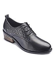 The Shoe Tailor Studded Shoes EEE Fit