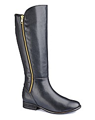 Legroom High Leg Boots E Fit Curvy Calf