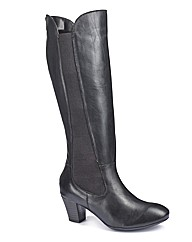 Easystep High Leg Boots EEE Fit Curvy