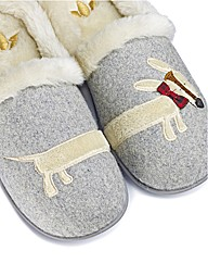 Lotus Dog Slippers E Fit