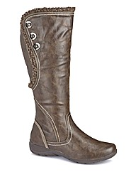 Cushion Walk Boots EEE Fit Curvy Calf