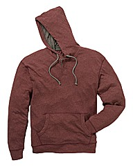 Jacamo Slub Hooded Top Long