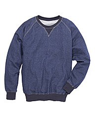 Jacamo Crew Neck Sweatshirt Regular