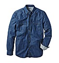 Jacamo Denim Shirt Regular