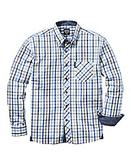 Lambretta Long Sleeve Check Shirt Long