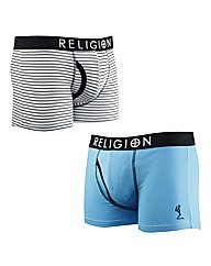 Religion Twin Pack Boxers