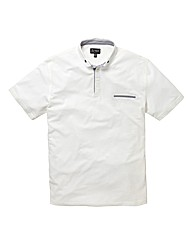 Black Label Penny Collar Polo Reg
