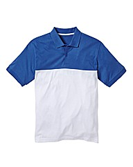 Jacamo Colour Block Polo Regular