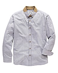 Jacamo Cord Collar Shirt Regular