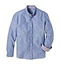 Jacamo Polka Dot Oxford Shirt L