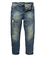 Union Blues Distressed Jean 29In Leg