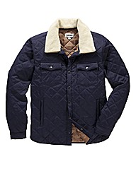 Jacamo Quilted Coat Regular
