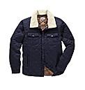 Jacamo Quilted Coat Regular