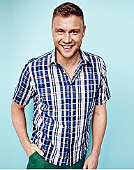 Flintoff By Jacamo Check Shirt Long