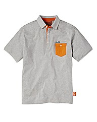 Gio Goi Contrast Pocket Polo