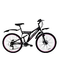 BOSS Stealth Womens Full Suspension Bike