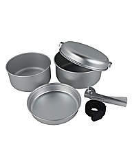 Yellowstone Aluminium 5 Cooking Set