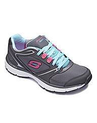 Skechers Agility Trainers Wide Fit