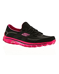 Skechers Go Walk 2 Lace Up Pumps E Fit
