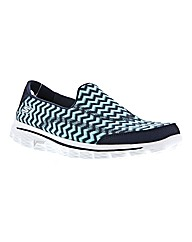 Skechers Go Walk 2 Chevron Pumps E Fit