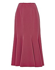 G&O Soft Twill Panelled Skirt- 82cm