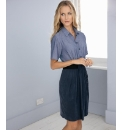 Anise Chambray Shirt Dress
