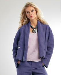 Yisha Linen Jacket