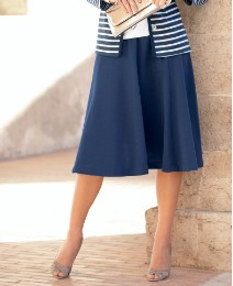 Gray & Osbourn Jersey Panelled Skirt