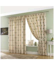 Oakland Lined Pencil Pleat Curtains