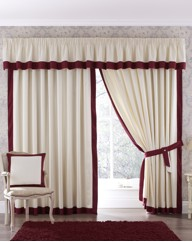 Claremont Lined Pencil Pleat Curtains