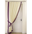 Claremont Lined Door Curtain