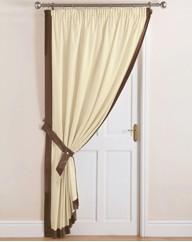 Claremont Lined Door Curtain