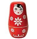 Russian Doll Ceramic Measuring Cups