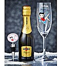 Personalised Betty Boop Flute & Prosecco