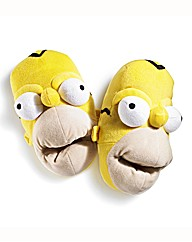 Mens Homer Simpson Slippers