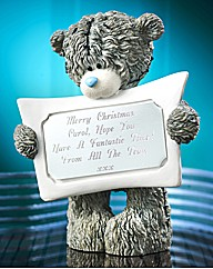 Personalised Tatty Teddy Message Bear