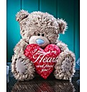 Tatty Teddy With Love Heart & Verse