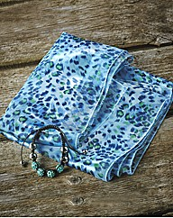 Ladies Scarf & Bracelet Set