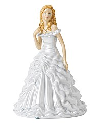 Royal Doulton Birthstone Figurine April