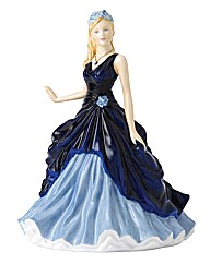RoyalDoulton Birthstone Figure September