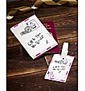Passport Cover & Luggage Tag Set