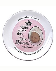 Fairytale Little Princess Photo Plate