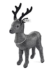 Steiff Stag With Necklace