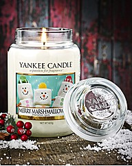 Marshmallow Large Jar Candle