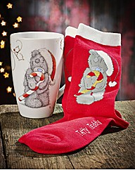 Me to You Christmas Mug and Socks